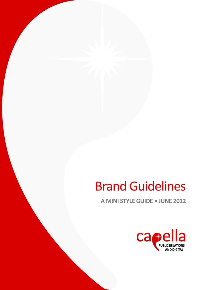 Capella Style Guide