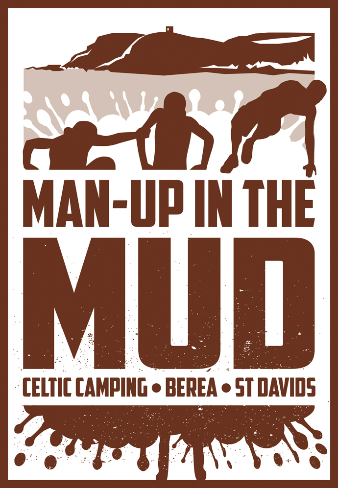 Man-Up in the Mud logo