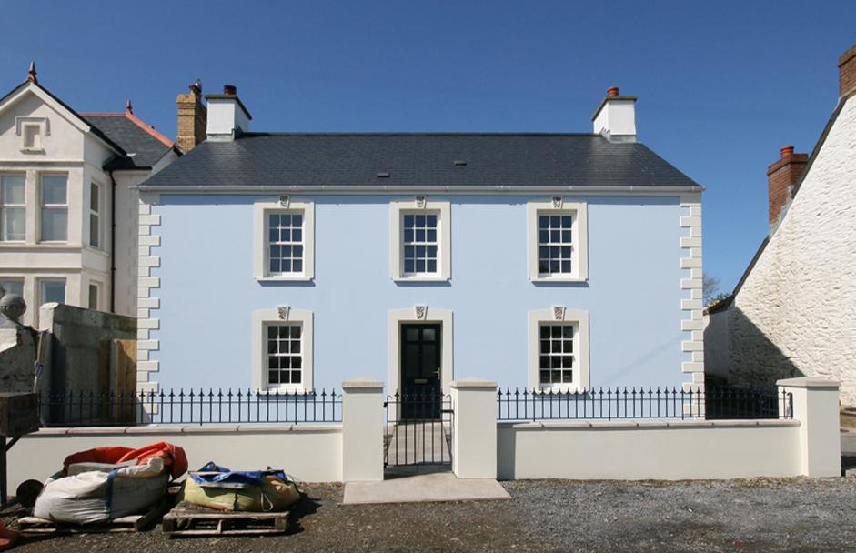 Boathouse front photo
